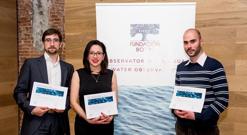 Fundación Botín entrega Premios Talento Joven Gestión Sostenible Agua