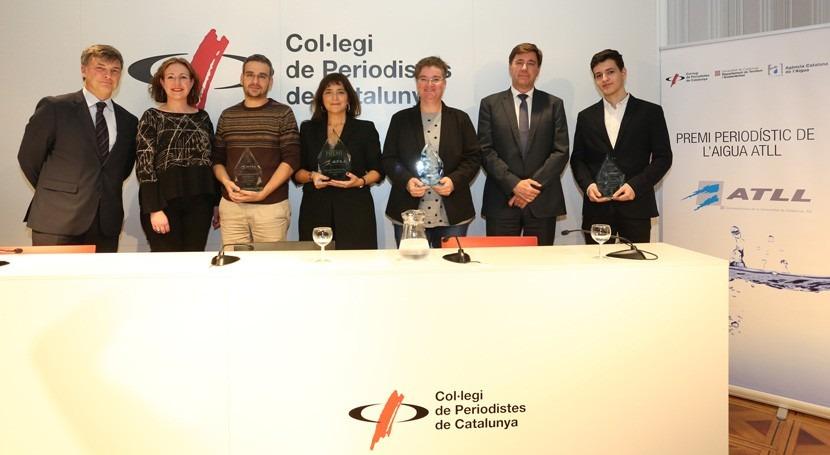 "espacio ""Efecto Mariposa"" Cataluña Información gana Premio Periodístico ATLL Agua"