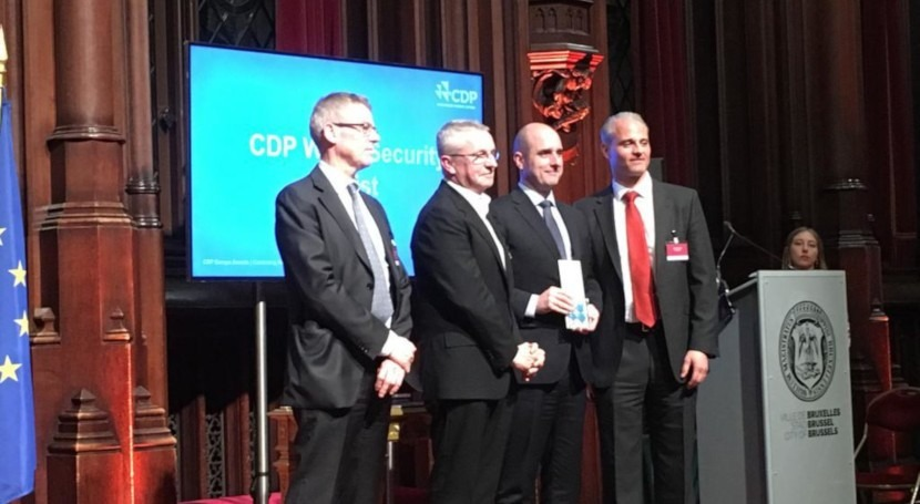 """ACCIONA, galardonada """"CDP Europe Awards"""" gestión sostenible agua"""