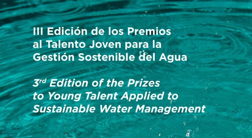 Premios al Talento Joven Gestión Sostenible Agua celebran tercera edición