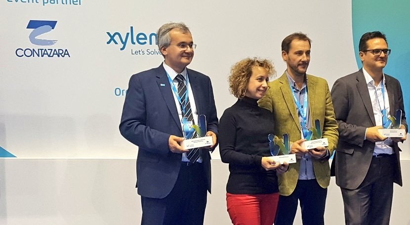 proyecto Watintech, Opticits, Xylem y Proactiva Open Arms ganan Premios Iwater