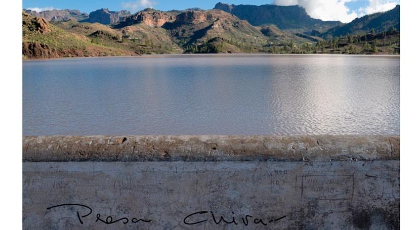 Evolución temporal datos principales Presa Chira #GranCanaria #Canarias