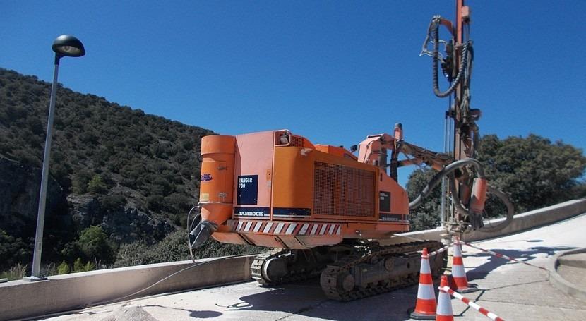 Iniciadas obras mejorar seguridad estructural presa Tajera, Guadalajara