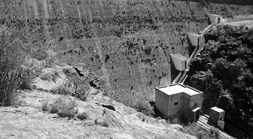 Construcción grandes presas Canarias: singularidad Gran Canaria
