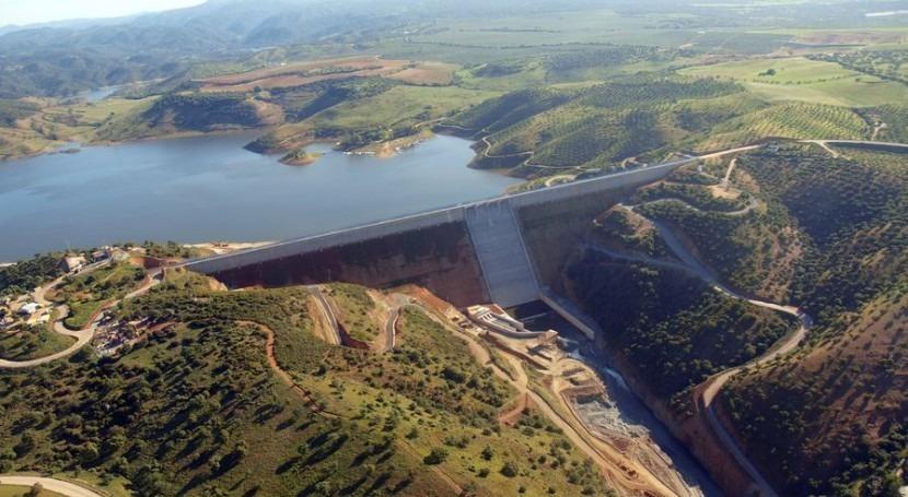 DAM se diversifica conservación 5 presas cuencas Guadiana y Guadalquivir