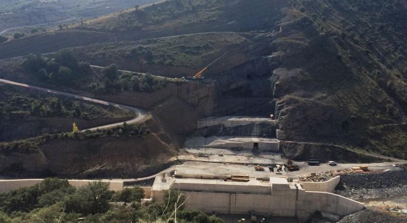 Retomadas obras presa Enciso, cuyas obras finalizarán 18 meses