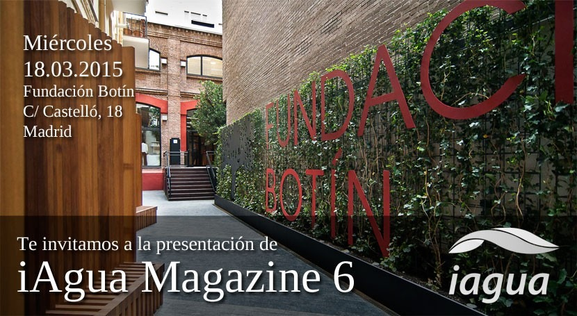Presentación iAgua Magazine 6