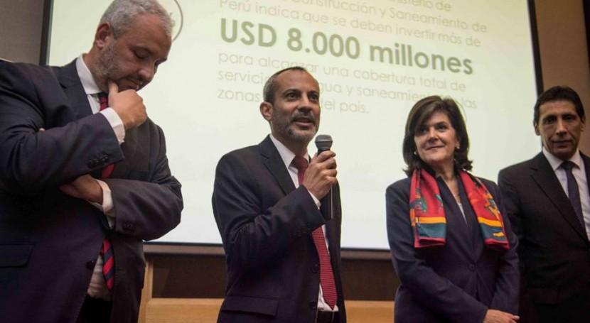 España Latinosan: planificación hidrológica avanzar saneamiento América Latina