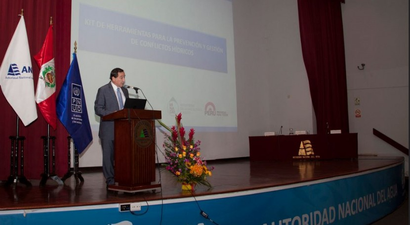 Perú presenta kit herramientas prevención y tratamiento conflictos recursos hídricos
