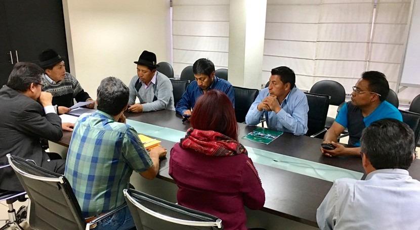 Ecuador otorga primera personería jurídica gestión Comunitaria Agua
