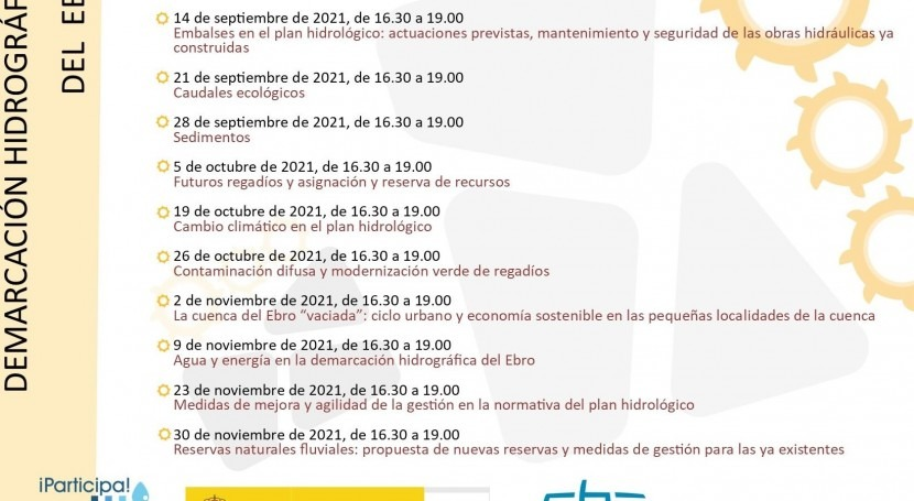 Vídeo-talleres analizar Plan Hidrológico Ebro 2021-2027