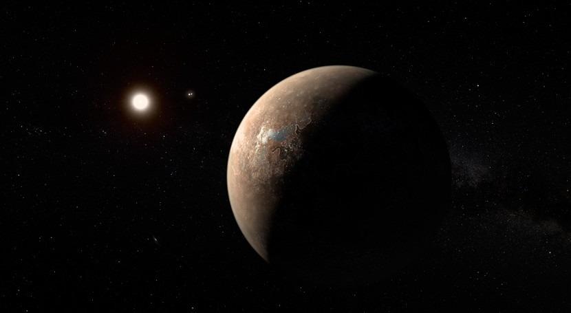 modelación climática avala que Próxima b podría tener agua y ser habitable