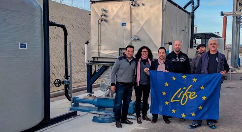 EDAR Alguazas contará prototipo que maximizará producción biogás