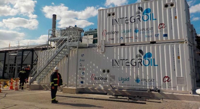 proyecto INTEGROIL entra fase final actividades demostración refinería