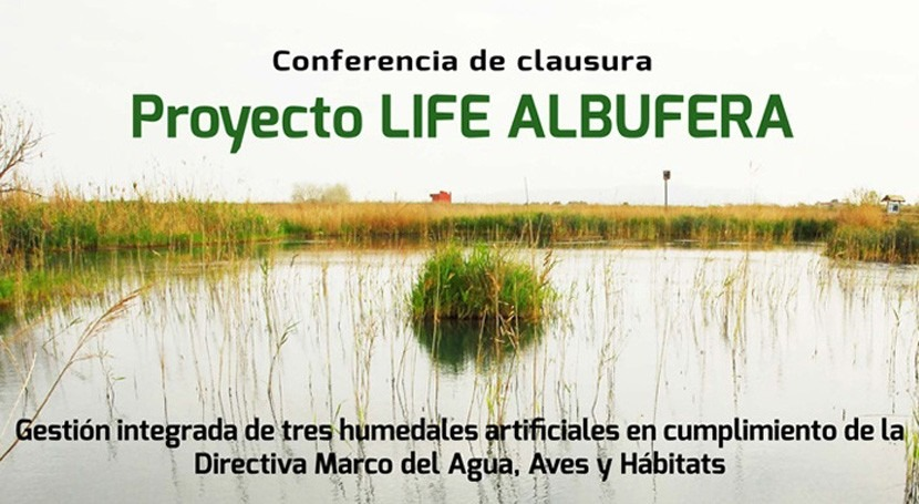 proyecto europeo LIFE ALBUFERA presenta resultados finales