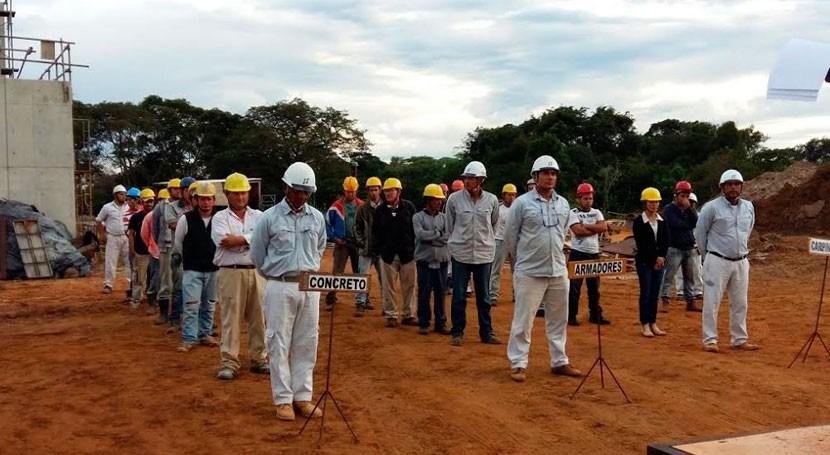 disciplina y hábitos nipones, presentes construcción PTAP Paraguay