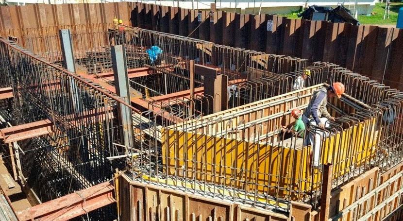 planta tratamiento agua Oviedo, Paraguay, tiene 97% avance