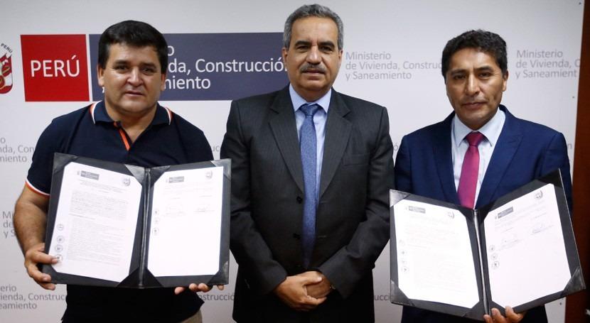 Más 90.000 habitantes Bagua y Huancavelica se beneficiarán ejecución 2 PTAR