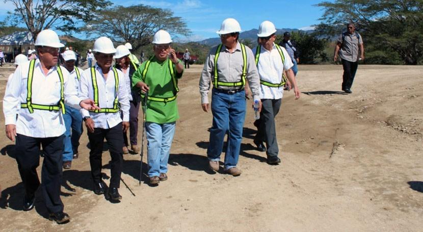 Continúa avance construcción planta tratamiento aguas residuales Metapán