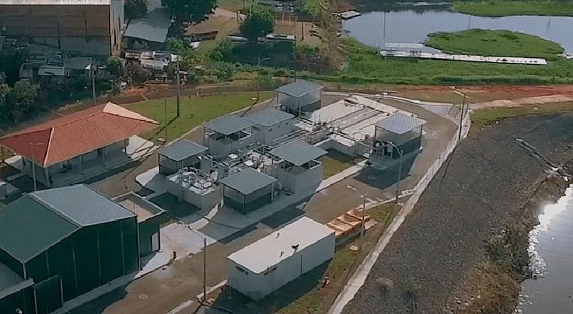 ACCIONA completa obras saneamiento integral bahía y área metropolitana Asunción