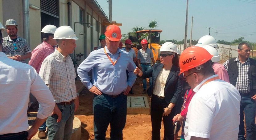 nueva PTAR Yataily, Paraguay, dotará agua población 24 horas día