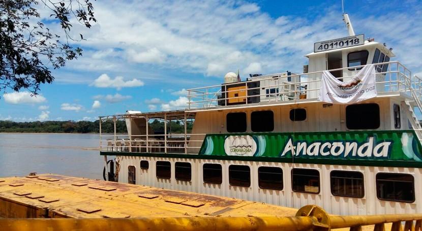Aula fluvial colombiana recorrerá Amazonia impulsar proyectos ambientales escuelas