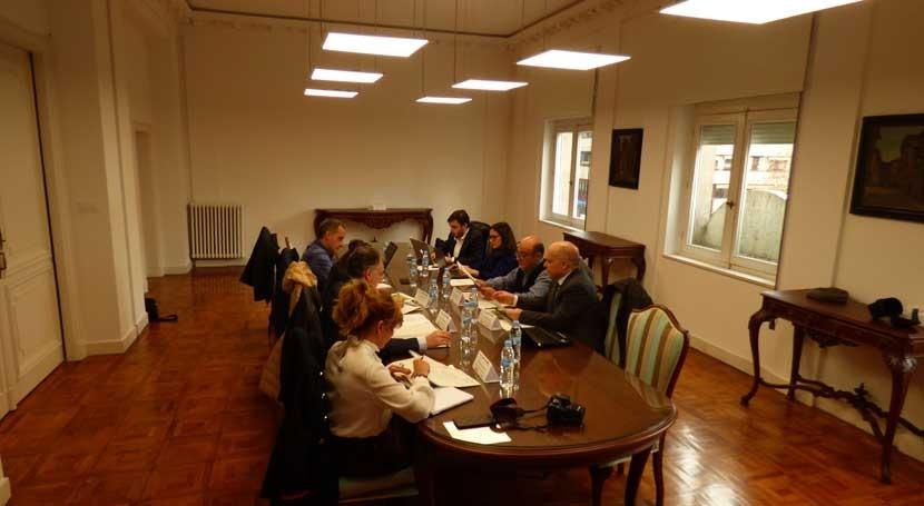 "CHMS valora actuaciones programadas proyecto europeo ""Raia Termal"""