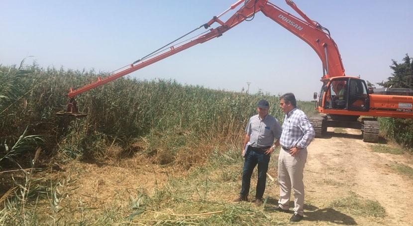 conducción que desviará agua Rambla Albujón tendrá 4 km y 100 ls caudal