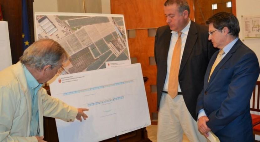 drenaje carreteras que atraviesan Rambla Viznaga Lorca evitará inundaciones