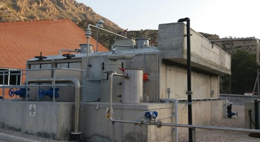reactor anaerobio UASB diseñado ACCIONA y Esamur cumple más año funcionamiento