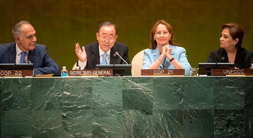 42 países ya han ratificado Acuerdo Clima París