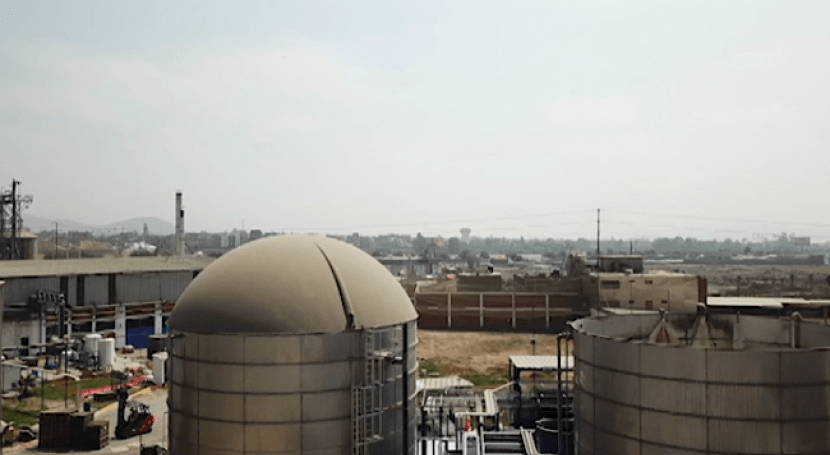 Tratamiento anaerobio aguas residuales elevada biodegradabilidad
