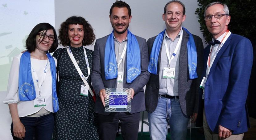 Life Albufera recibe premio como mejores proyectos finalizados 2016-2017