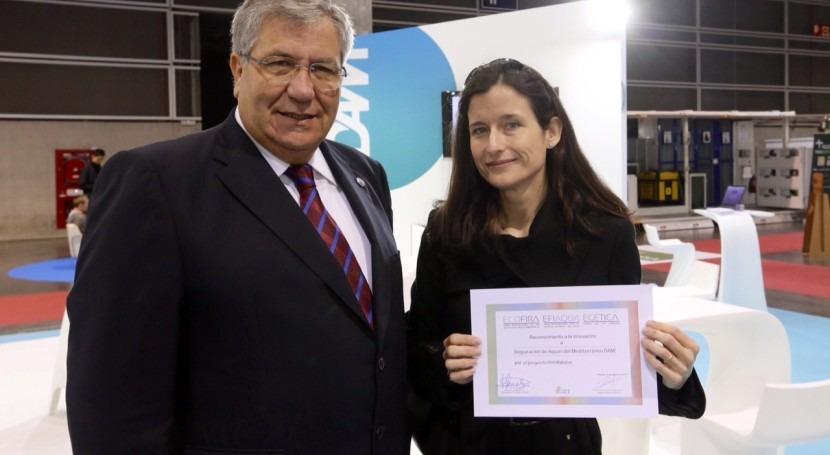 DAM recibe Efiaqua reconocimiento compromiso innovación