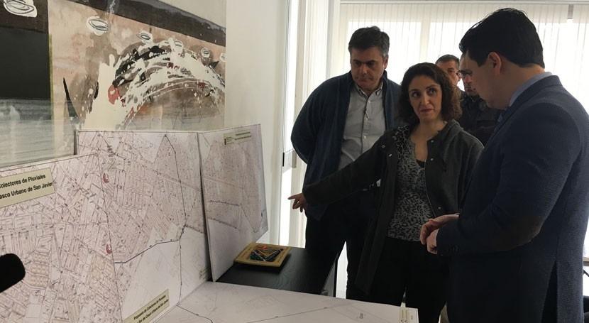 Gobierno murciano comienza redacción proyecto nuevos colectores San Javier