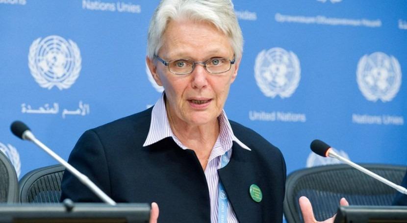 Margareta Wahlström (ONU).