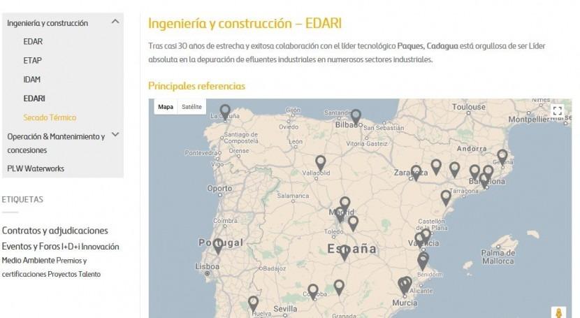 EUROPAC Vuelve confiar Cadagua ampliar EDARI Alcolea Cinca