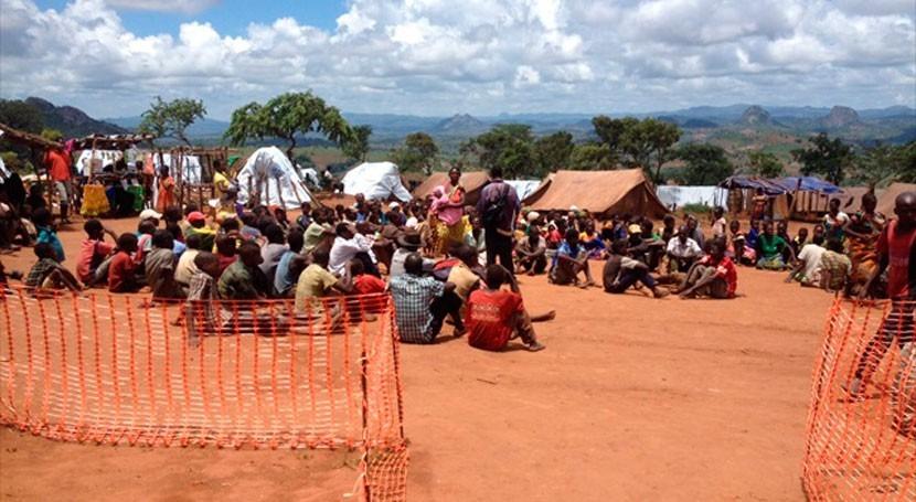 Desastre nacional Malaui sequía y llegada refugiados