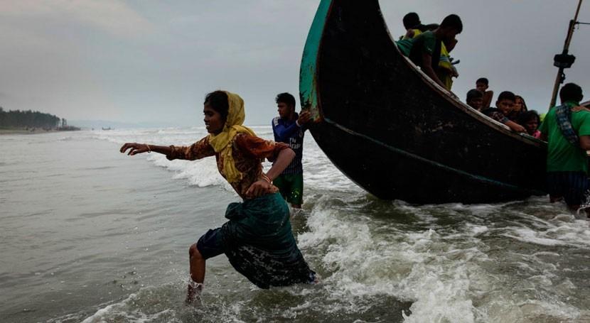 UNICEF ayudará construir 10.000 letrinas refugiados Rohingyas