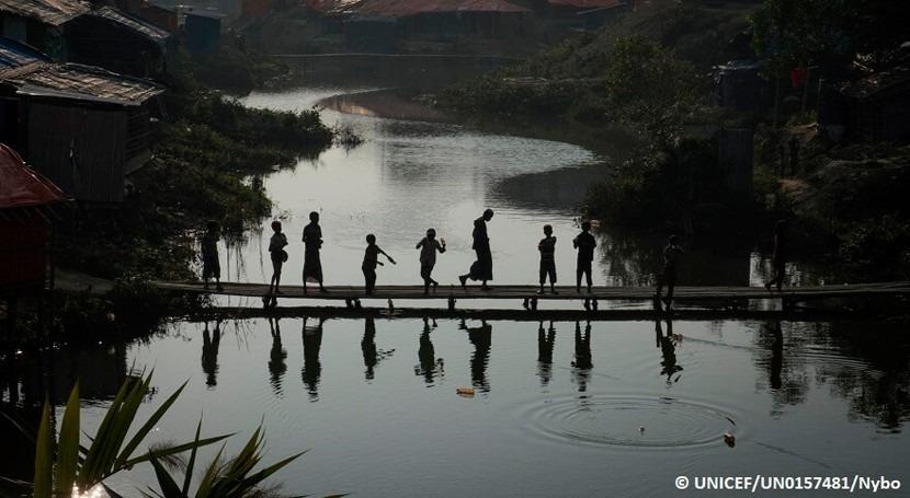 30.000 rohingyas viven zonas alto riesgo lluvias, OIM