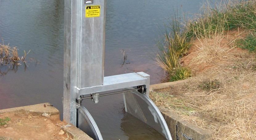 Eficiencia transporte agua canales