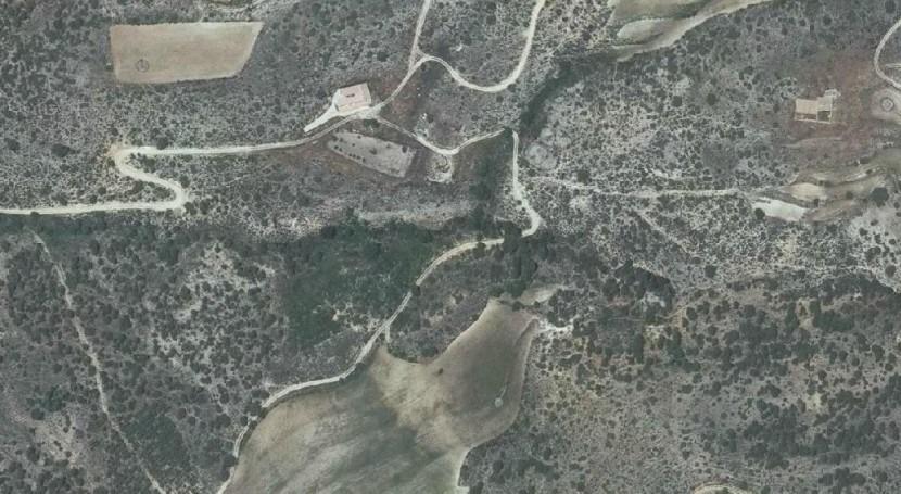 Imagen de la zona que se aprecia a través del visor de información geográfica de la CHS.