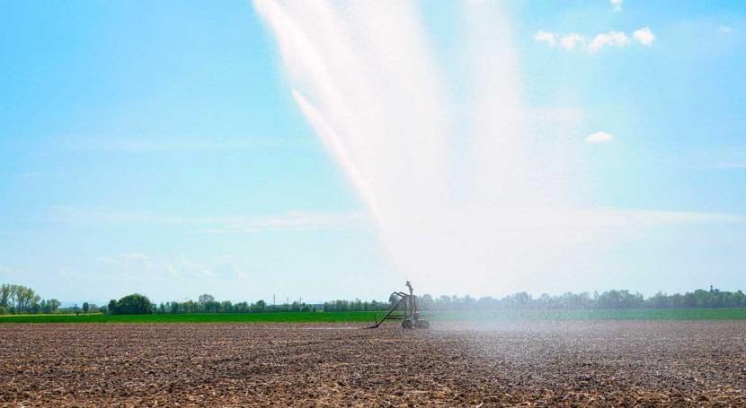 subestimación superficie cultivos regadío supone riesgo escasez agua