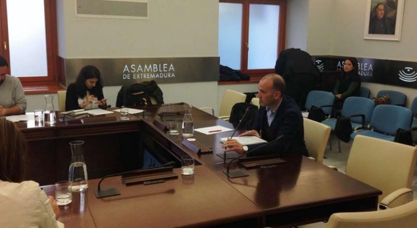 Extremadura estudia regadío Tierra Barros posibilitar participación MAGRAMA