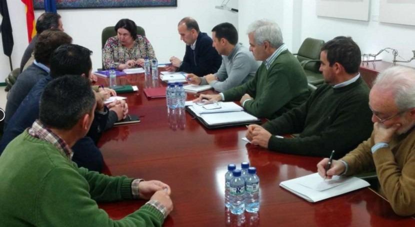 Constituida mesa trabajo Proyecto Regadío Tierra Barros Extremadura