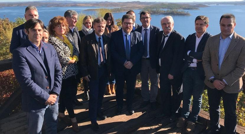 Andalucía estudia impulsar zonas regadíos concesiones comarca Andévalo Occidental