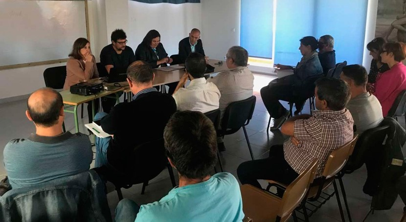 Extremadura presenta regantes Cáceres innovador proyecto regadío montaña