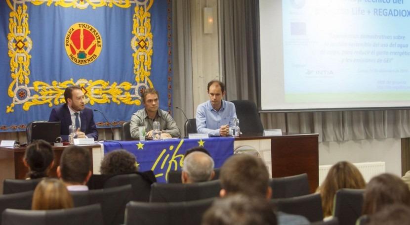 gestión agricultura regadío es oportunidad lucha cambio climático