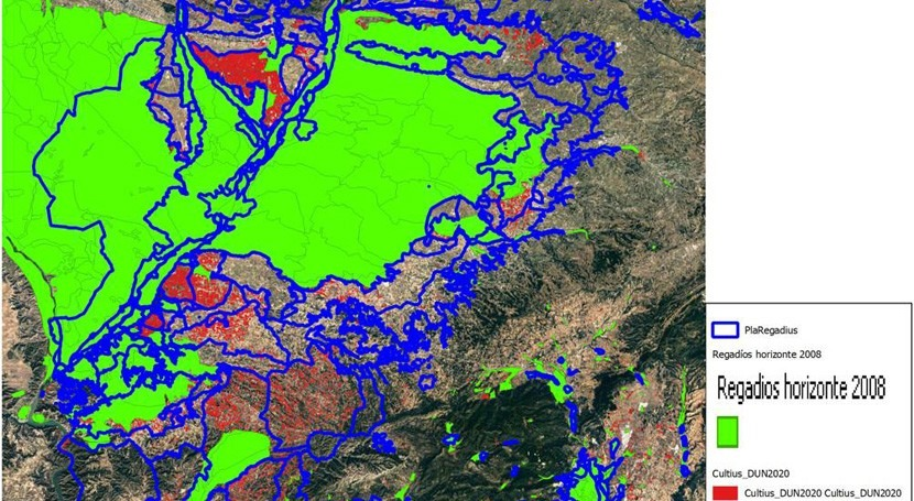 3 actualizaciones Unidades Cartográficas regadíos España
