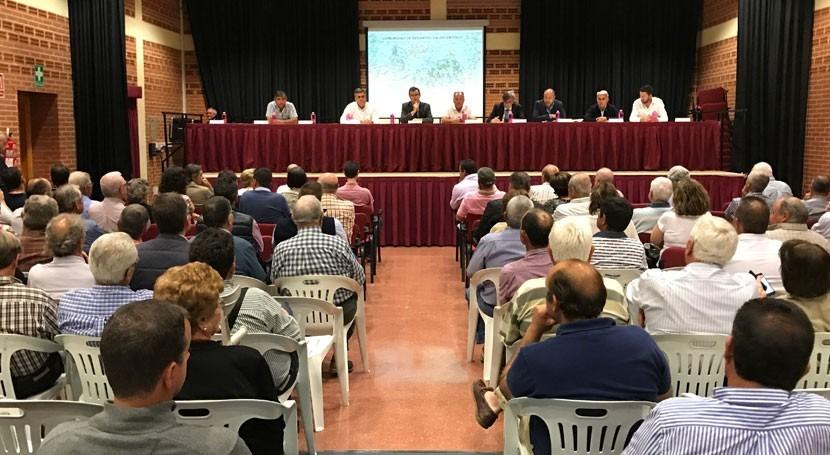 Nace primera Comunidad Regantes Campo Murcia